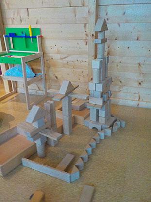 Kindergarten Königreich Bauklötze
