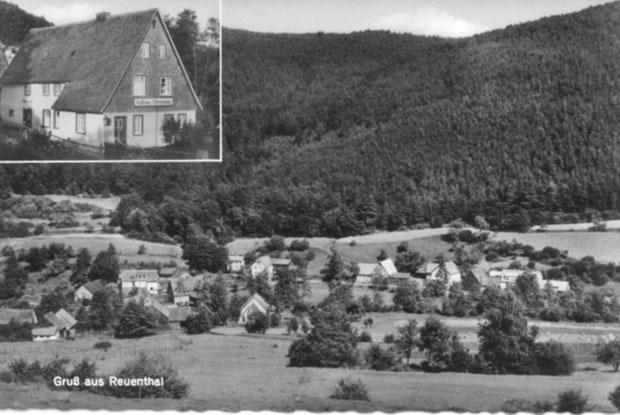 Reuenthal Postkarte 1958