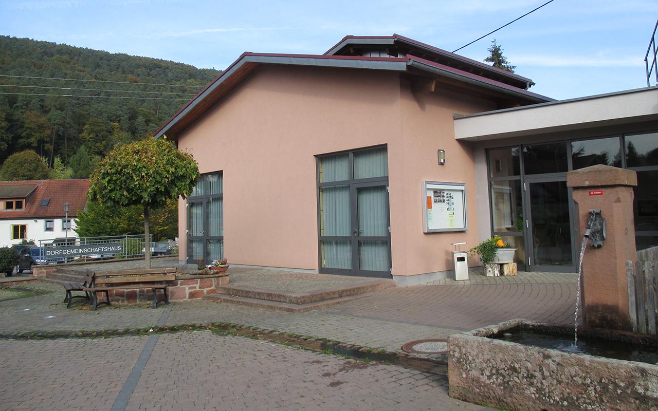 Dorfgemeinschaftshaus Weilbach außen