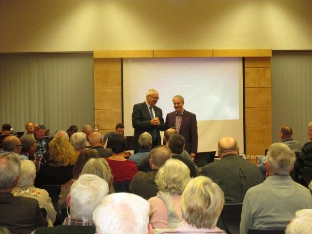 Buchvorstellung am 28.11.2015 in Weckbach