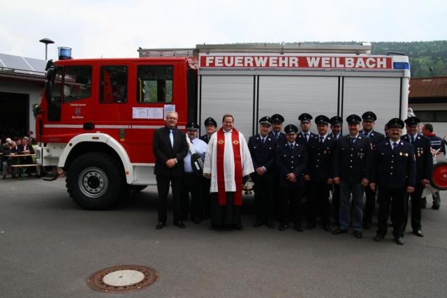 Einweihung des neuen Feuerwehrfahrzeugs