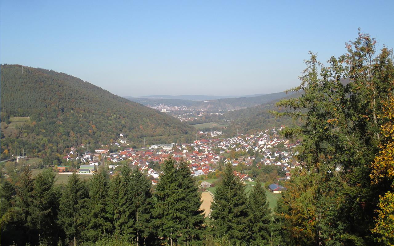 Gotthardsruine Ausblick