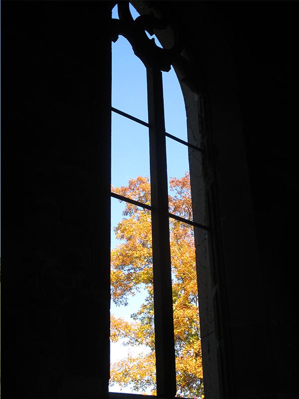 Gotthardsruine Fenster