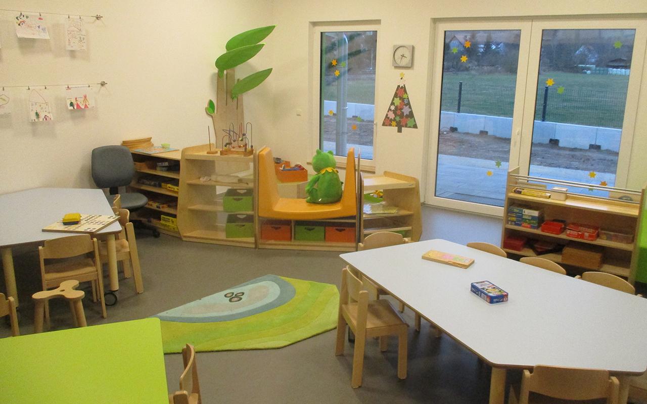 Kindergarten Farbenzauber Gemeinschaftsraum