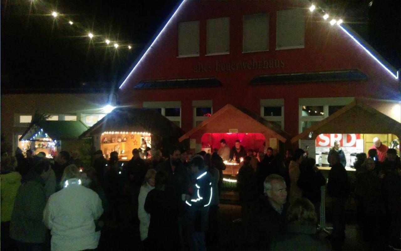 Lichtzauber Glockenmarkt Stände