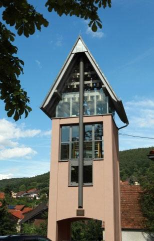 Glockenturm Carillion Weilbach