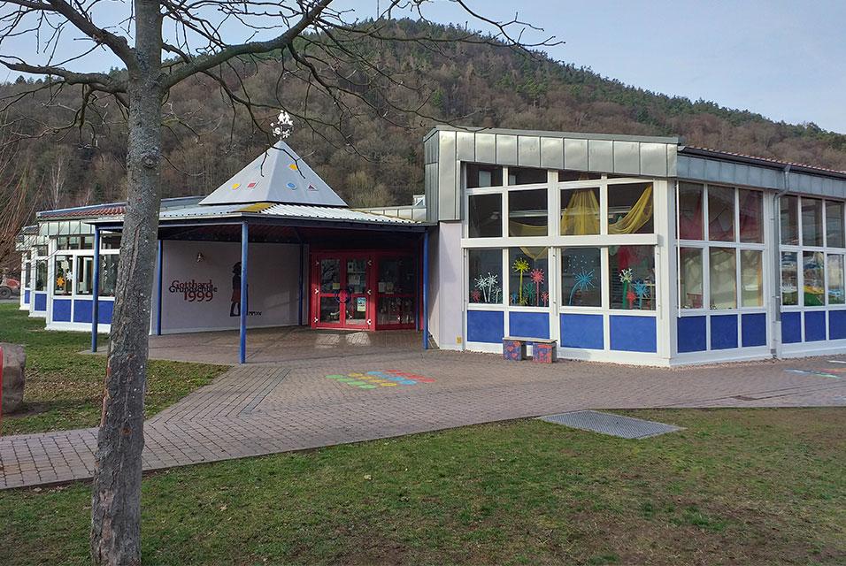 Gotthard Grundschule Weilbach Gelände