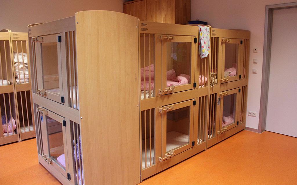 Kindertagesstätte Farbenzauber Schlafsaal