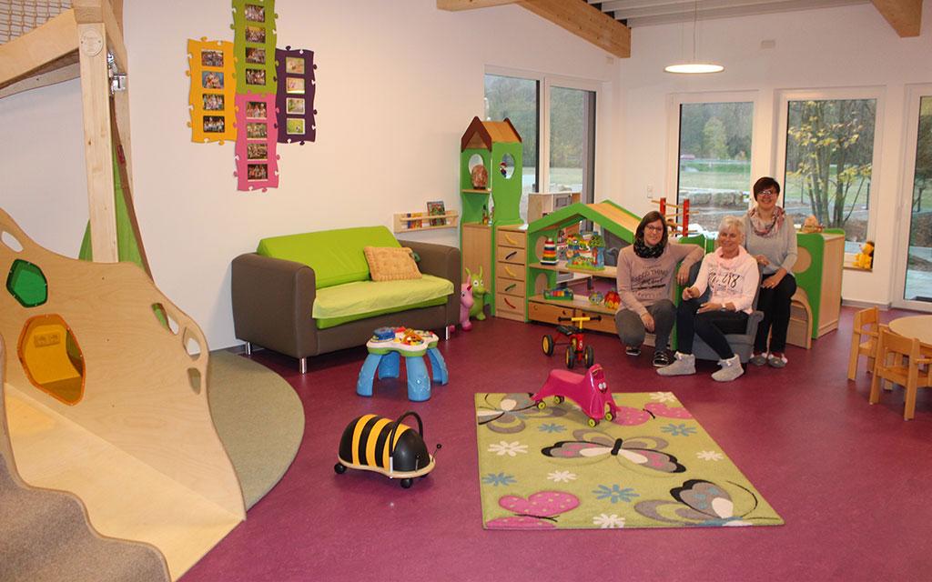 Kindertagesstätte Farbenzauber Spielzimmer