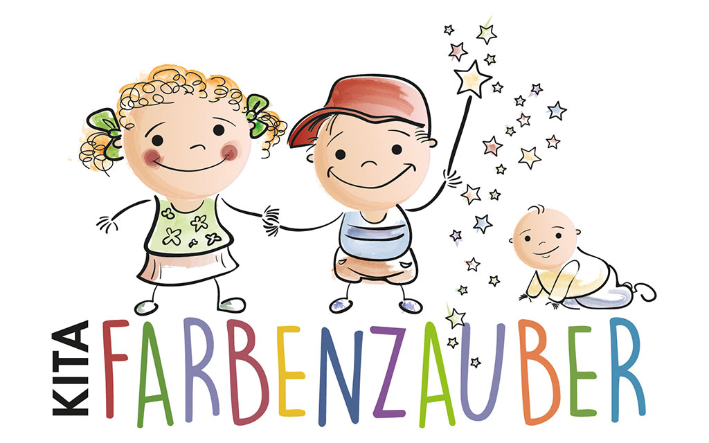 KITA Farbenzauber Weilbach Logo
