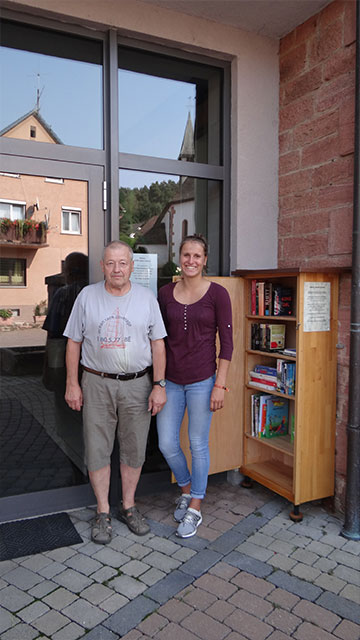 Offener Bücherschrank Weilbach