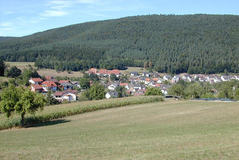Ortsansicht Weckbach